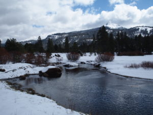 Early spring at West Fork Carson River Hope Valley